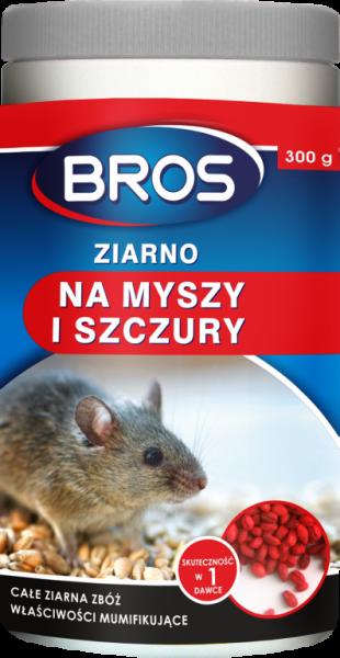 Bros ziarno na myszy i szczury