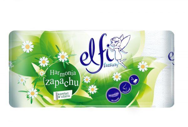 Papier toaletowy Elfi rumiankowy