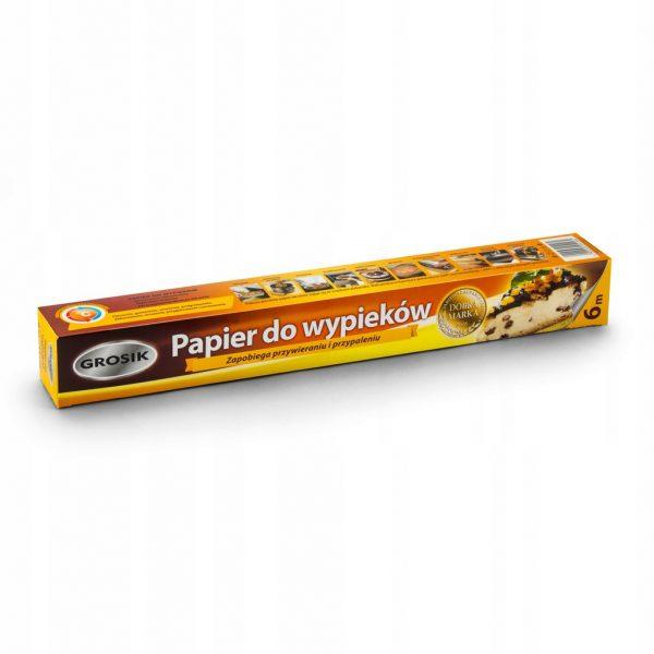 Papier Grosik brązowy