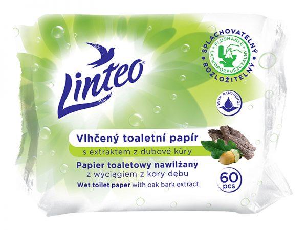 Papier toaletowy nawilżany Linteo