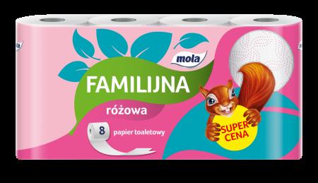 Papier toaletowy Mola Familijna