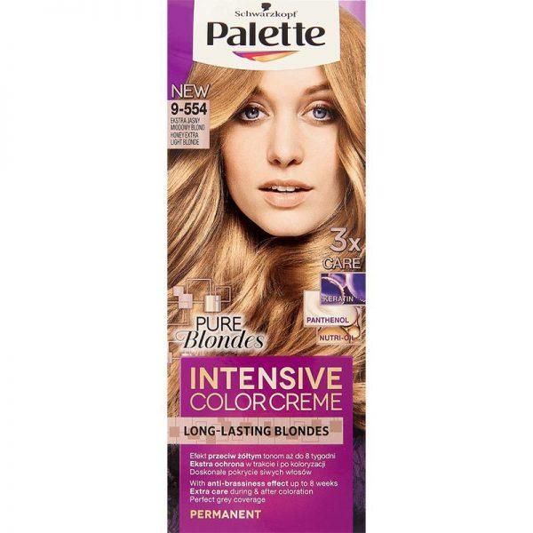 Farba Palette Miodowy Blond