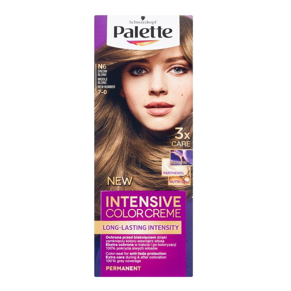 Farba Palette Średni Blond