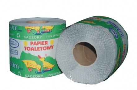 Papier toaletowy Kaczory szary