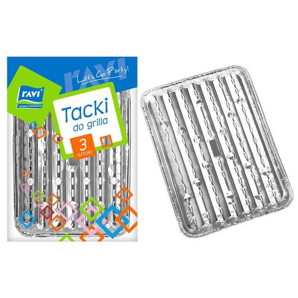 Ravi tacki aluminiowe