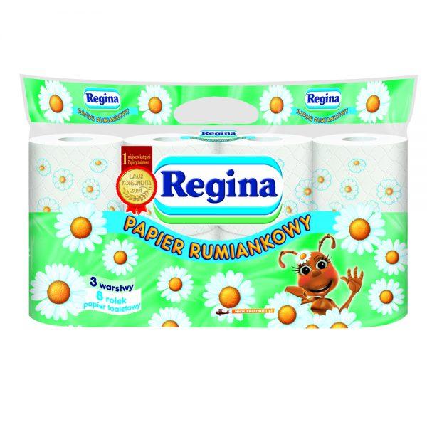 Papier toaletowy Regina rumiankowy