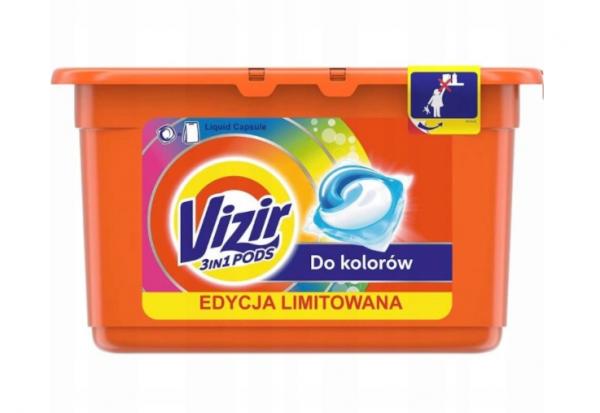 Kapsułki Vizir Kolor 16 szt.
